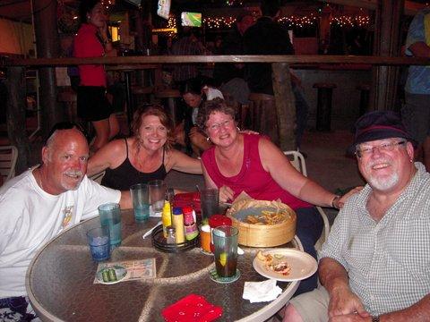 At Huggos on the Rocks in Kona, Hawaii